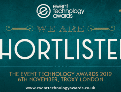 Event Tech Live 2019: Shortlisted &  Showing Our Spark