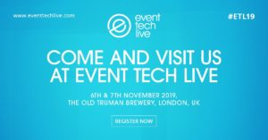 invitation copy for event tech live 2019 conference in London